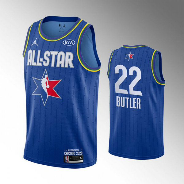canotte All Star 2020 Uomo Jimmy Butler 22 Blu