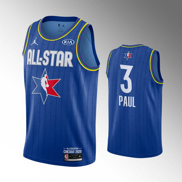 canotte All Star 2020 Uomo Chris Paul 3 Blu