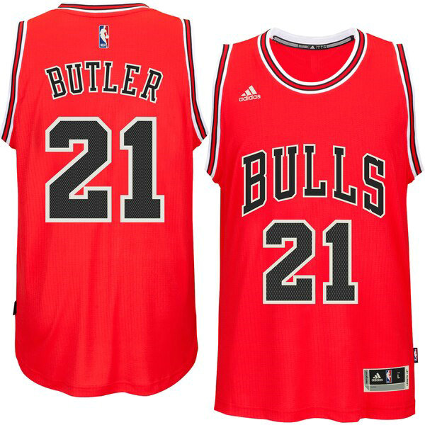 canotte Chicago Bulls Uomo 2019 Jimmy Butler 21 Rosso