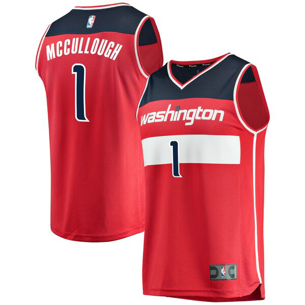 canotte Washington Wizards Uomo Icon Edition Chris McCullough 1 Rosso