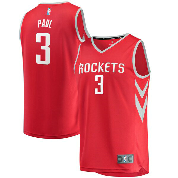 canotte Houston Rockets Uomo Icon Edition Chris Paul 3 Rosso