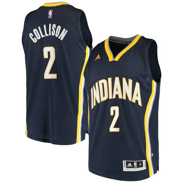 canotte Indiana Pacers Uomo adidas Darren Collison 2 Marina