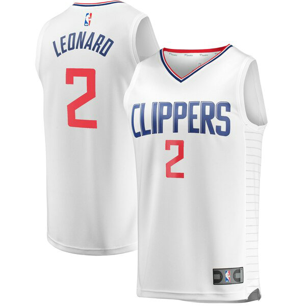 canotte Los Angeles Clippers Uomo Association Edition Kawhi Leonard 2 Bianco