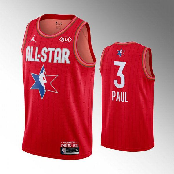 canotte All Star 2020 Uomo Chris Paul 3 Rosso