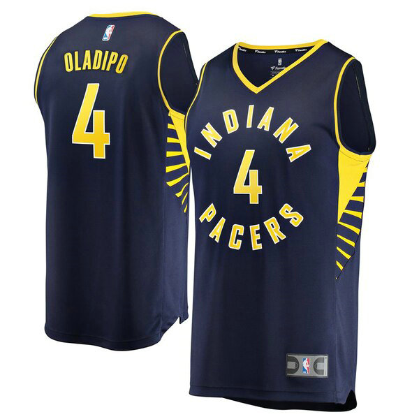 canotte Indiana Pacers Uomo Icon Edition Victor Oladipo 4 Marina