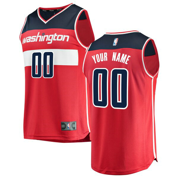canotte Washington Wizards Uomo Icon Edition Custom 0 Rosso