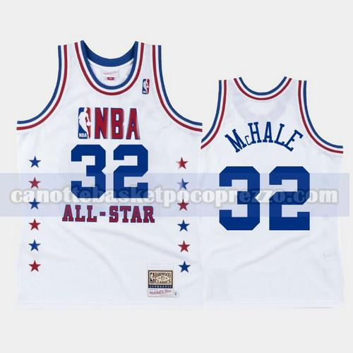 canotte Boston Celtics Uomo All Star 1988 Kevin McHale 32 Bianco