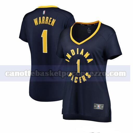 canotte Indiana Pacers Donna icon edition TJ Warren 1 Marina