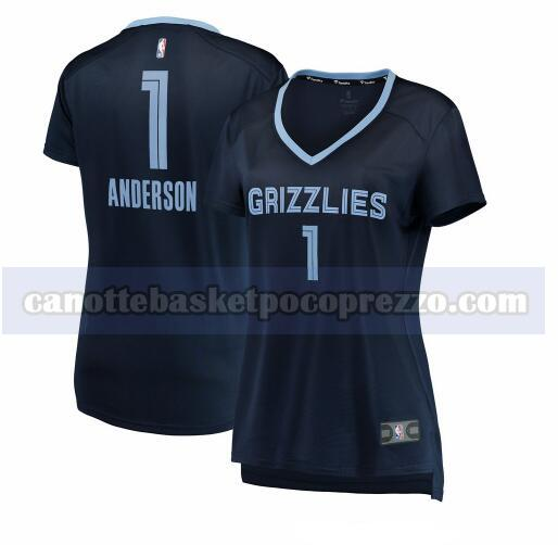 canotte Memphis Grizzlies Donna icon edition Kyle Anderson 1 Marina