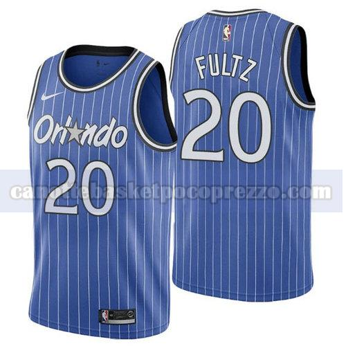canotte Orlando Magic Uomo retro Markelle Fultz 20 Blu