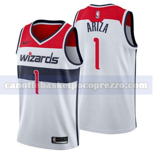 canotte Washington Wizards Uomo 2018-2019 Trevor Ariza 1 Bianca