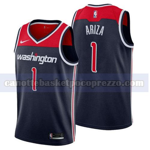 canotte Washington Wizards Uomo 2018-2019 Trevor Ariza 1 Blu