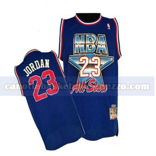 canotte all star 1992 uomo Michael Jordan 23 blu