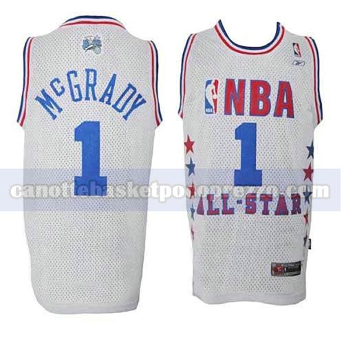 canotte all star 2003 uomo Tracy McGrady 1 bianco