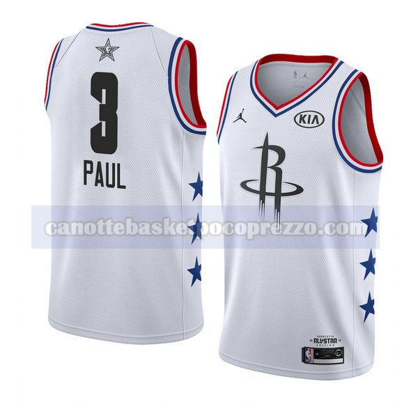 canotte all star 2019 uomo Chris Paul 3 bianco