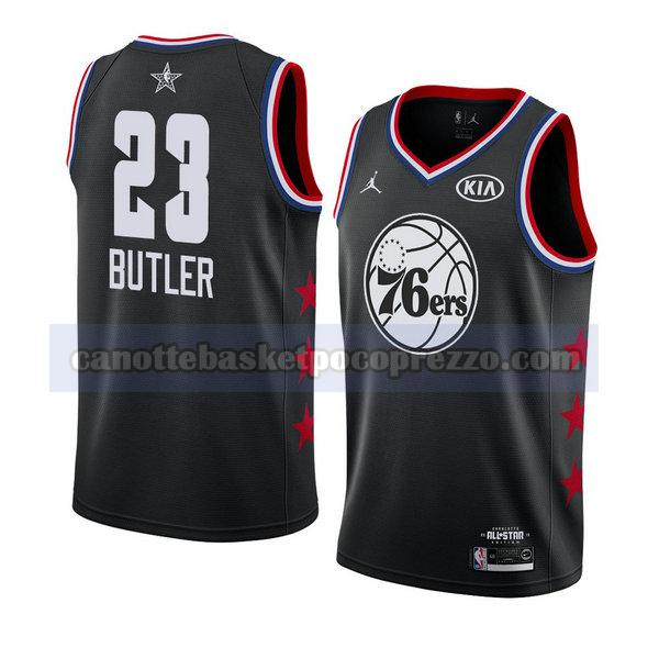 canotte all star 2019 uomo Jimmy Butler 23 nero