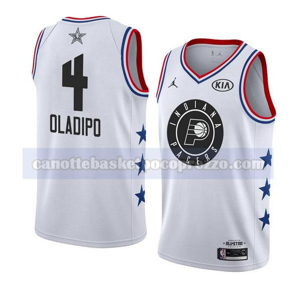canotte all star 2019 uomo Victor Oladipo 4 bianco