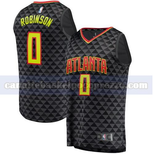 canotte atlanta hawks uomo icon edition Thomas Robinson 0 nero