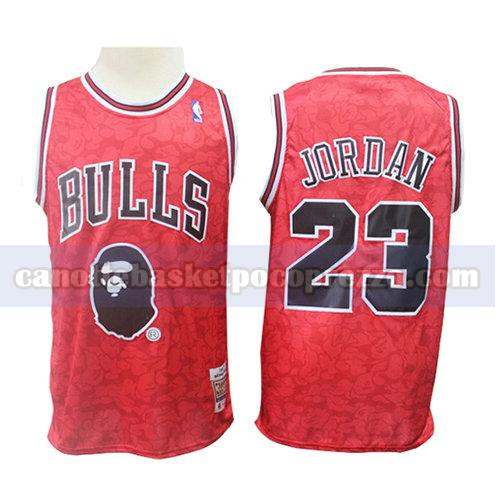 canotte chicago bulls uomo mitchell & ness Michael Jordan 23 rosso