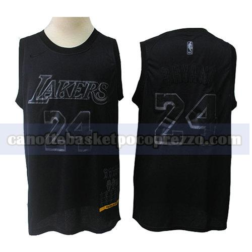 canotte los angeles lakers uomo mvp Kobe Bryant 24 nero