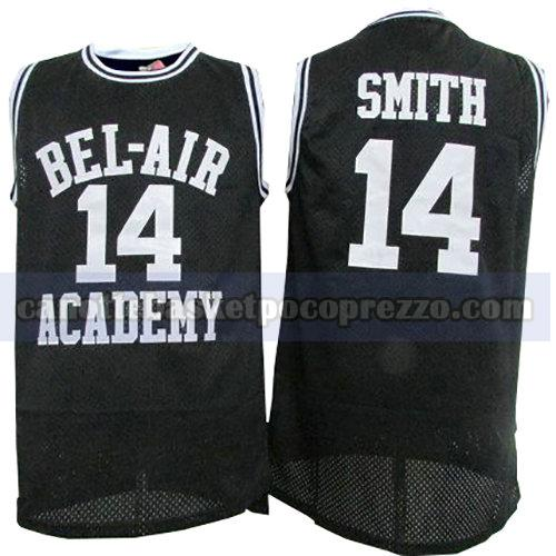 canotte pelicula uomo bel-air academy Smith 14 nero