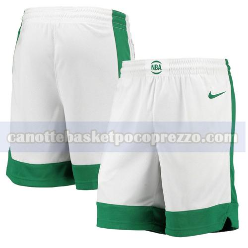 pantaloncini Boston Celtics Uomo 2020-21 City Edition Bianco