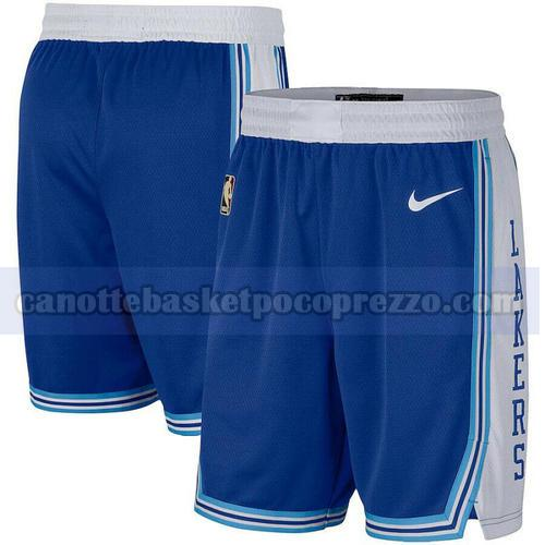 pantaloncini Los Angeles Lakers city Uomo 2020-21 Blu