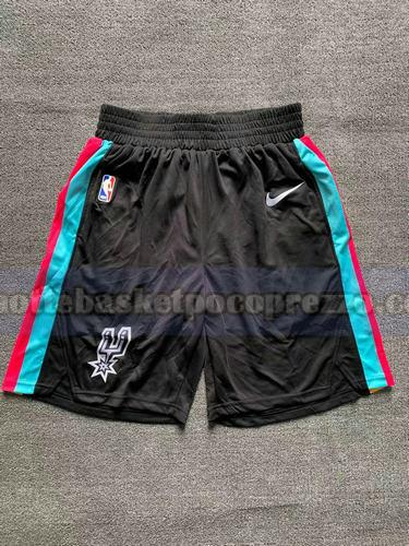 pantaloncini San Antonio Spurs Uomo 2020-21 City Edition Nero