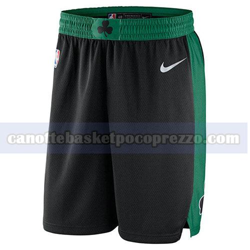 pantaloncini boston celtics uomo 17-18 nero