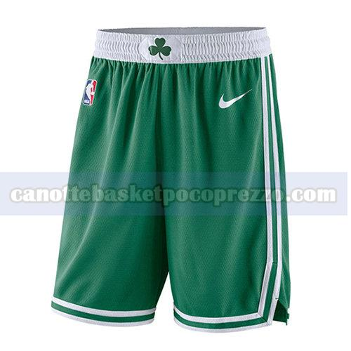 pantaloncini boston celtics uomo 2017-18 verde